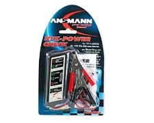 Testeur pour batteries d'automobiles de 12 V et le cicuit de charge