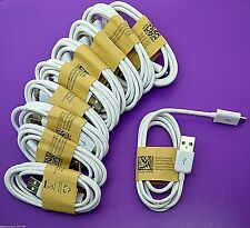 Lot of 10x Micro USB data sync cable cord for Android Cell Phones universal b238