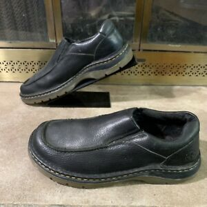 Vintage Dr Martens AirWair Leather Slip On Shoes Low Top Boots Mens 10 Air Vtg