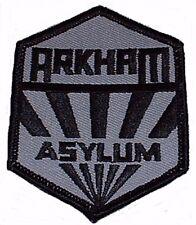 Batman Arkham Assylum Logo Embroidered Crest Patch