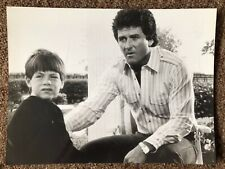 Dallas (1987) Joshua Harris, Patrick Duffy. Rare Original Press Photo