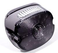 LED Rücklicht flach smoke dunkel getönt f. Harley Sportster Dyna Fat Boy E Glide
