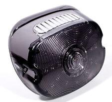 LED Luz Trasera Plano fumar perfil bajo negro tintado PARA Harley Davidson