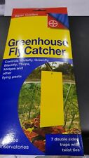 Greenhouse Fly catcher strips, controls all flying pests