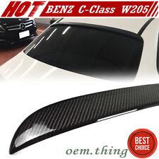 """""""IN IN LA STOCK"""" Carbon Mercedes BENZ W205 C-Class 4D OE Roof Spoiler C400 C200"""