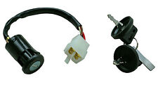 Aeon quad ignition switch - 4 wires, 1 'on' position (male connectors) new
