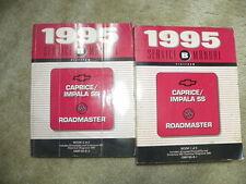 1995  Buick Roadmaster Chevy Caprice impala Service Manuals