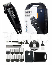 Wahl 300 Series Red Hair Trimmer Clipper Cortador Grooming Kit DVD ** ** enchufe de Reino Unido