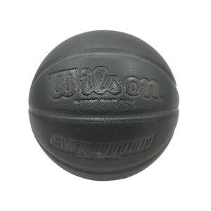 Wilson Basketball - Evolution Blackout Edition - Micro Fibre Basketball Size 7