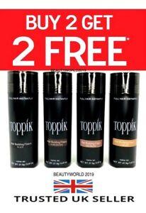 Toppik Hair Building Fibres 27.5g 🔥Buy 2 and get 2 Free🔥SATISFACTION GAURANTEE