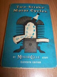 Zwei Takt Motorrad 1952 Durch Motorrad Technische Buch Motor Zündung