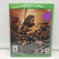 CONAN EXILES XB1 (Microsoft Xbox One, 2018) Open-World Survival - New/Sealed