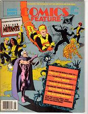 Comics Feature Magazine  January 1987 - #51 - The New Mutants !!