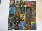 Top Cow Showcase Painted Cow 72 Card set from Comic Images 1996