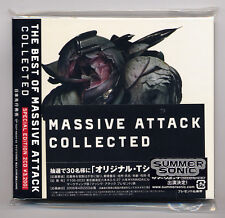 "The Best of Massive Attack ""Collected"" Japan Special Edition 2-CD Set"