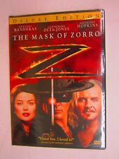 The Mask of Zorro (DVD, 2005, Deluxe Edition)  BRAND NEW   FACTORY SEALED