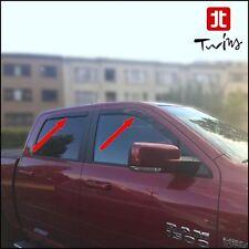 Déflecteurs de vent pluie air teintées pour Dodge Ram 1500 depuis 2009 Crew Cab