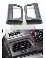 For Honda CRV CR-V 2012-16 Carbon Fiber Headlight Adjust Switch Panel Cover Trim