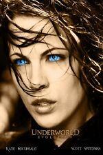 Kate Beckinsale Underworld 2 Evolution TV Decorative poster 24x36Inch 07