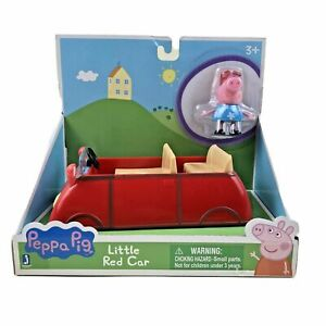 Peppa Pig Little Red Car Toy with Figure & Vehicle NIB