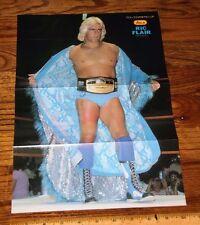 Ric Flair Rare Japan wcw nwa wwf wwe wrestling magazine pinup photo poster