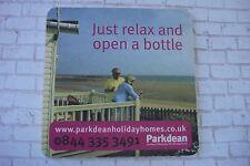 Beer Informational Coaster ~^~ Award Winning PARKDEAN Holiday Homes Parks ~^~ UK