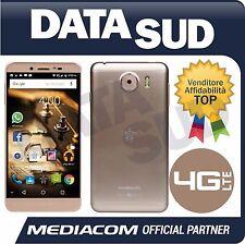 Smartphone MEDIACOM PhonePad Duo S532U  4G LTE ORO/GOLD M-PPAS532U Dual Sim