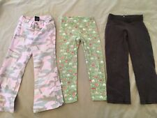 High Sierra Old Navy Gymboree Pants Lot 4 5 Girl Brown Pink Camo turtle leggings