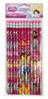 Disney Princess Pencils School stationary Supplies 12pc