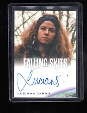 2015 Falling Skies Collector,s Luciana Carro auto. card #2
