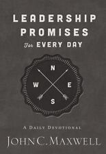 Leadership Promises for Every Day Christian Daily Devotional John Maxwell Book