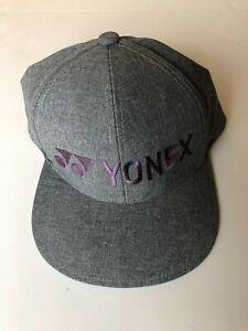 YONEX LIGHT WEIGHT HAT GRAY/PURPLE BRAND NEW