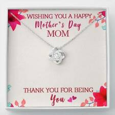 Necklace Mothers Day Gift Thank You For Being You Jewelry For Mom