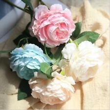28cm/38cm ARTIFICIAL FAKE PEONY FLOWER HOME ROOM WEDDING PARTY GARDEN DECOR