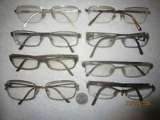Lot of 8 Versace Eyeglasses Mens Womens SEXY BIG WIDE Office Crystals Hollywood