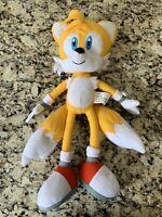 "Sega 19"" Miles Tails Prower 2009 Kellytoy Sonic the Hedgehog Stuffed Plush Toy"