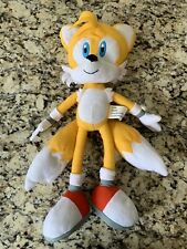 "Sega 19"" Miles Tails Prower 2009 Kellytoy Sonic the Hedgehog Stuffed Plush Toy"