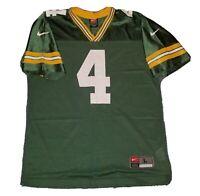 Vintage 90s Nike Brett Favre Green Bay Packers Football Jersey #4 NFL - Youth L