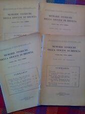 MEMORIE STORICHE DELLA DIOCESI DI BRESCIA - annata completa 1961  sotto i titoli