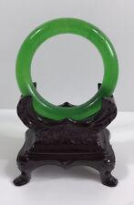 100% Natural  green jade bangle 58mm*10mm