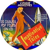 IMAGINATIVE TALES VINTAGE MAGAZINE - COMIC BOOKS - 20 ISSUES - PDF FILES - CD