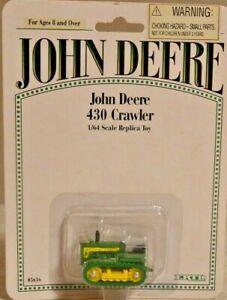 1/64 John Deere 430 Crawler  Diescast ERTL New in Package #5616