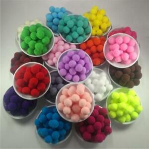 Pompom Plush Ball for Craft Soft Wedding Home Decoration Garment Sewing on Cloth