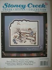 Stoney Creek Magazine Vol 5 Number 2 March April 1993 Counted Cross Stitch
