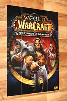 World of Warcraft Warlords of Draenor Rare Poster 59x42cm Blizzard WoW