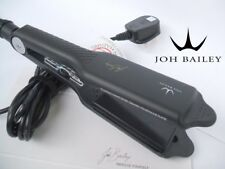 JOH BAILEY Floating Wide Plates Tourmaline Ceramic Nano Silver Straighteners NEW