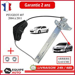 Leve Vitre Electrique Arriere Gauche pour PEUGEOT 407 & SW 1619992580 922385