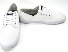 LaCoste Shoes Andover Rowing Club White Sneakers Size 8.5 EUR 41