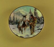 Morning Of Reckoning Mystic Warrior Miniature Plate Indian Native American