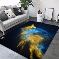 Details about  /3D Christmas Xmas 95 Non Slip Rug Room Mat Round Quality elegant photo carpet AU